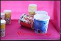 varios 2013 estilo de alta calidad de impresión de papel rizado taza