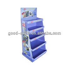 Cardboard Acrylic Cake Stands POP Display Stand
