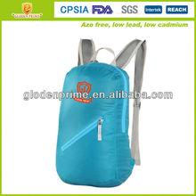 Hot selling promotional nylon fold up backpack
