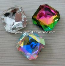 crystal glass cabochon gemstones