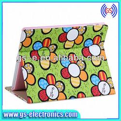 Luxury Sun Flower Pattern PU Smart Cover for Ipad Mini 2 3 4