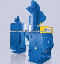 Main technical parameters of tumble belt shot blasting machine