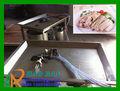 Açoinoxidável 4 arma manual máquina injetora de salmoura para peixes, frango e carne bovina