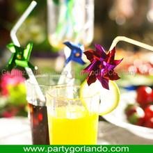 Super quality most popular drinking ornament straw plastics