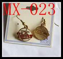 MINNESOTA TWINS Dangle Earrings Hook Ear Rings