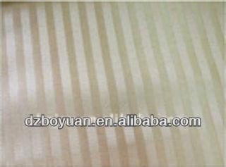 hospital textile cotton fabric, sateen stripe bedding fabric