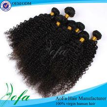 Wholesale natural kinky curly raw virgin brazilian hair