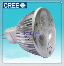 High Power CREE 3*2W led spotlight Bulbs MR16
