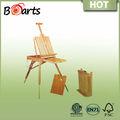 de madera del artista de caballete de estudio aceite o barniz acabado ideal