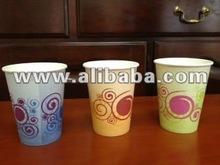 "8oz paper cup ""Spiral design"""