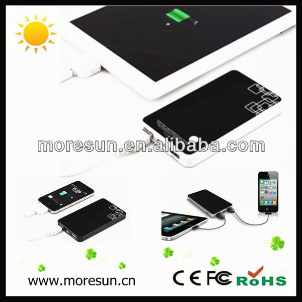 2014 New solar panel battery charger 6000mAH