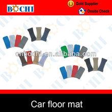 Hot sale of carpet floor mat colorful decorative car mats