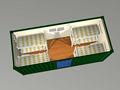 Marco de acero prefabricada armazón de la construcción