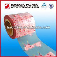 custom plastic packaging roll sweet food plastic packing film