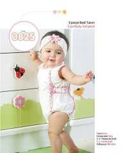 Baby 2piece Set Jumpsuit and Headband