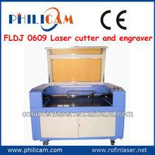 China Best and New design!PHILICAM FLDJ 6090 best laser engraver cutter/laser stone engraving machine