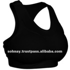 Cotton Lycra Sports Bra