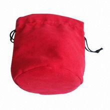 drawstring pouch round bottom
