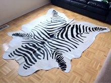 zebra print cowhide rugs