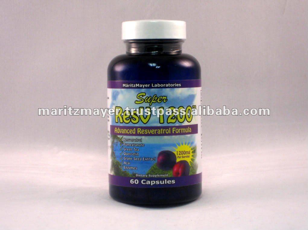 1200mg Resveratrol puro