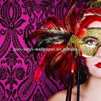 13 washable embossed design european stytle pvc wallpaper seni dan kerajinan dinding perbatasan kertas