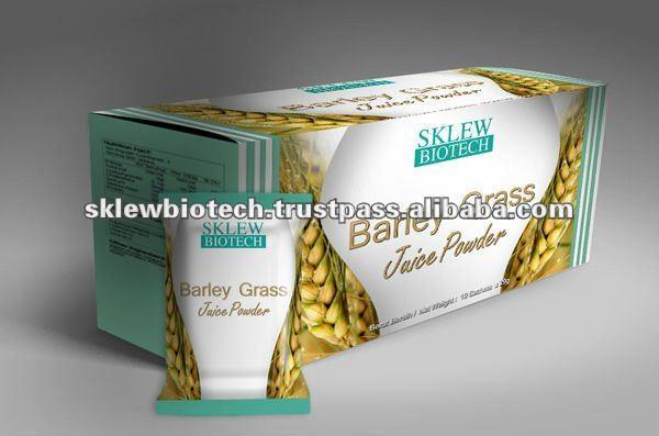 Erba di orzo in polvere succo di frutta oem -/private label