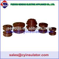 Different Types of Insulators ANSI 53-1, 53-2, 53-3, 53-4, 53-5 Porcelain Spool Insulator