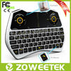 latest multimedia keyboard with touchpad and mic for smart tv