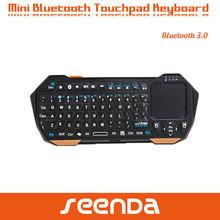 Seenda Mini Bluetooth Keyboard With Touchpad Qwerty Keyboard for galaxy note 2