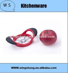 stainless steel fashion design apple tools/apple cutter/apple slicer