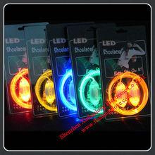 80cm Shoelace Charm/Cool LED Flashing Shoelace /Glow in the Dark Shoelace
