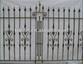 Chine usine de fer forgé clôture mur extérieur décoratif clôtures rampes, design