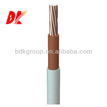 PVC insulated electro copper cabel