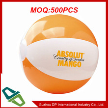 Promotional Plastic Inflatable Beach Ball with Logo Printing