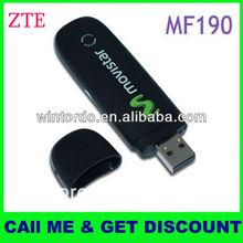 Hot sale 3g dongle cheap price, zte mf190 zte 3g modem