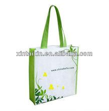 Lamination high quality shopping bag promotional foldable reusable non woven Bag