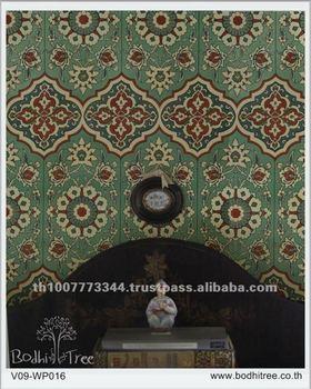 Thailand Arabesque Special Decorative Wallpaper