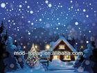 Lighted Christmas Eve, Frameless led canvas prints