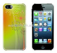 IMD/IML Colorful design PC Hard Back Cover case for iPhone 5c mini Lite