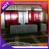 ESI wedding wall decorative curtain and curtain rods.wedding wall decoration