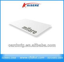E-co friendly Rfid blank card renault/keyfob 13.56Mhz ISO14443A for car