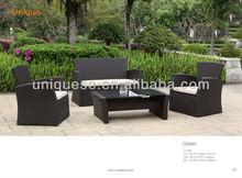 Ocean steel wicker sofa 4pc/set outdoor furniture dreaming furniture antique