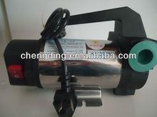 portable electric self-priming oil pump/diesel transfer pump/lubricate pump