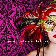 2012 New Special Designer Italian Style PVC Decorative Wallpaper carta da parati di seta cinese