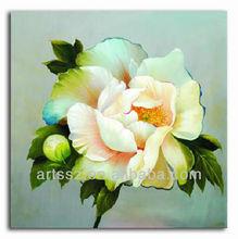 handmade morden flower oil painting