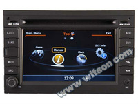 """WITSON 6.5"""" PEUGEOT 307 car cd dvd player with A8 Chipset S100 Platform"""