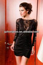 short evening dress long sleeves