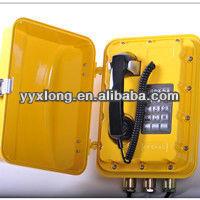 Defend grade IP66 antique telephone stand