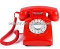 1940s vermelho baratos telefone retro