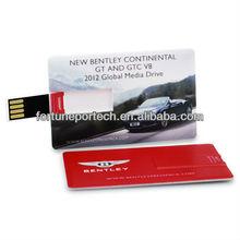 international souvenir gift credit card usb flash drives/disk